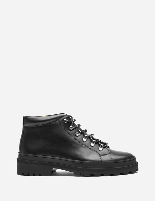 A.P.C. Ludwig Boots (Leather) - Black