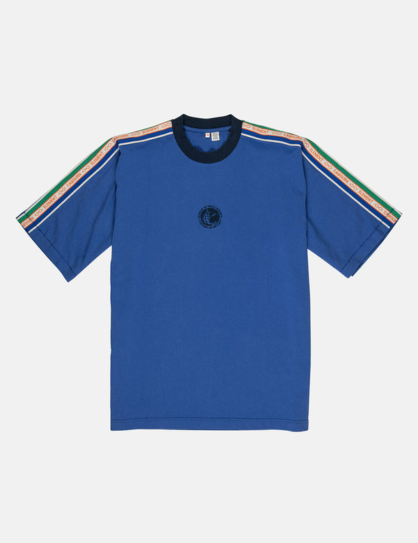 Nigel Cabourn x Element Big Sports T-Shirt - Cricket Blue