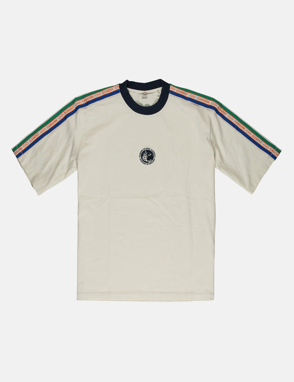 Nigel Cabourn x Element Big Sports T-Shirt - Washed White