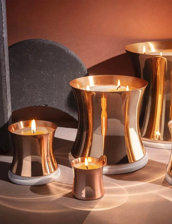 Bougie Tom Dixon London (grande) - Laiton