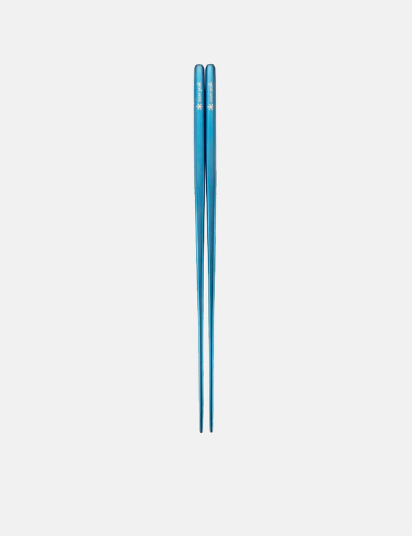 Snow Peak Titanium Chopsticks - Blue