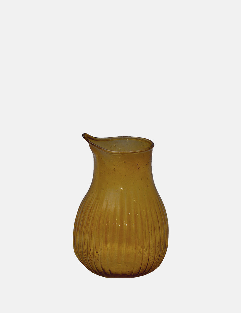 Dassie Artisan Varsha Striped Jug - Amber - Article