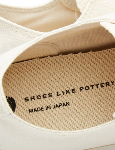 Shoes Like Pottery 01JP Low Trainers (Canvas) - Off White