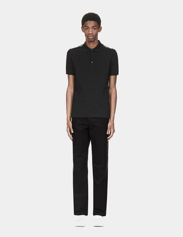 Fred Perry x Raf Simons Tape Detail Trouser - Black