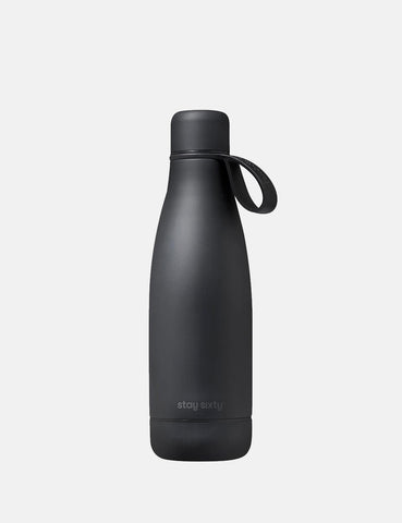 Stay Sixty Stainless Steel Water Bottle - Coal