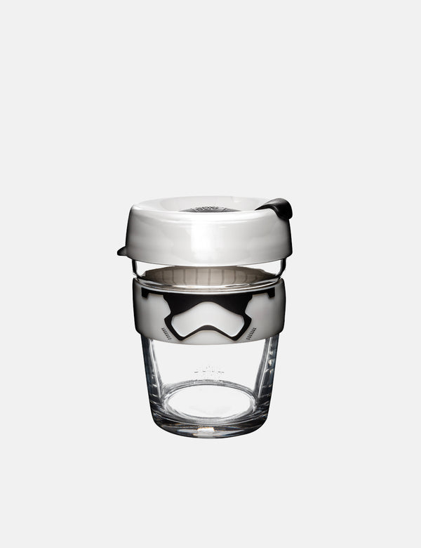 KeepCup Stormtrooper Brew Medium Cup (12oz) - White