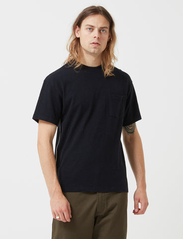 Bellerose Mexo T-Shirt - Navy Blue - Article