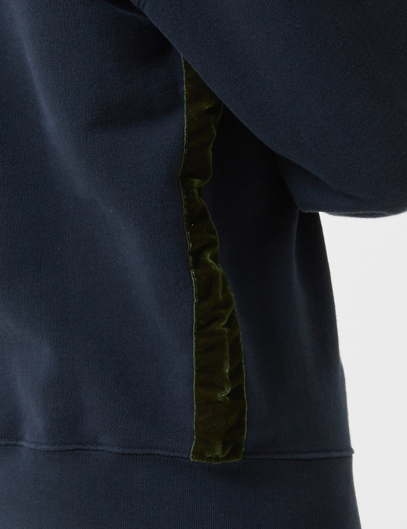 Bellerose Vadum Sweatshirt - America Blue - Article