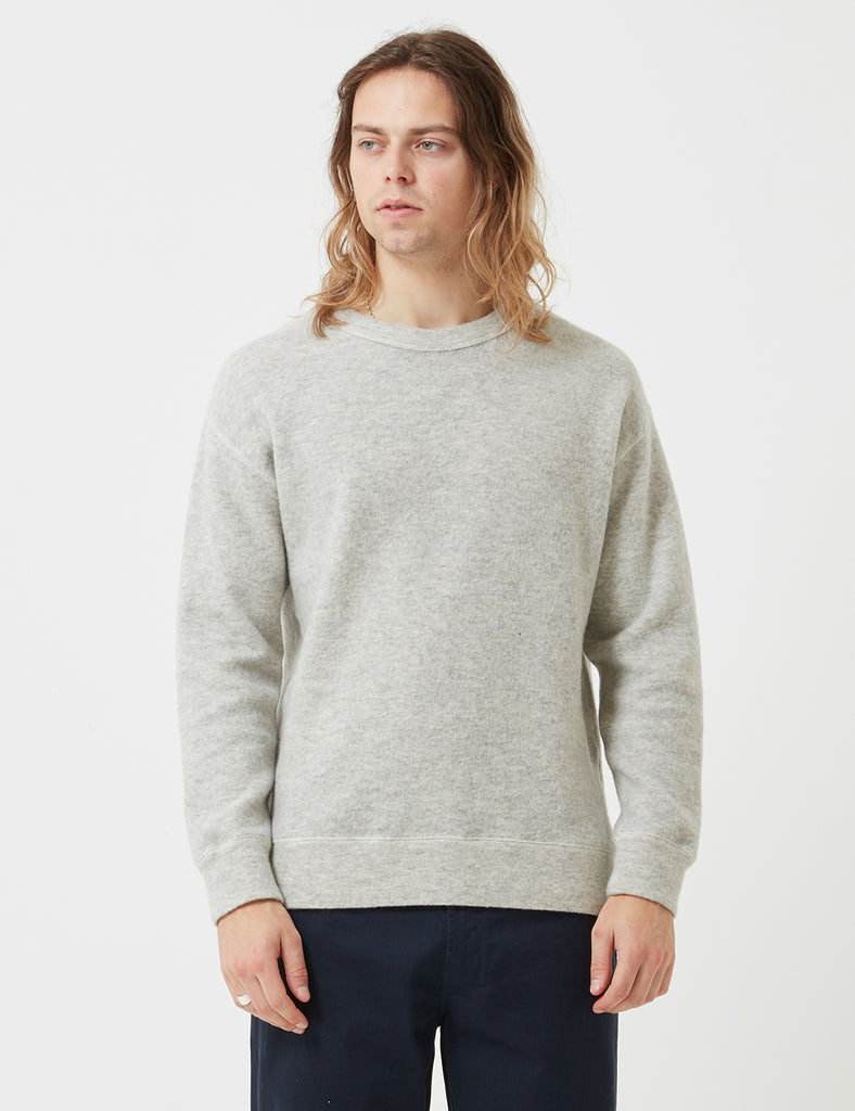 Bellerose Molk Sweatshirt - Grey - Article