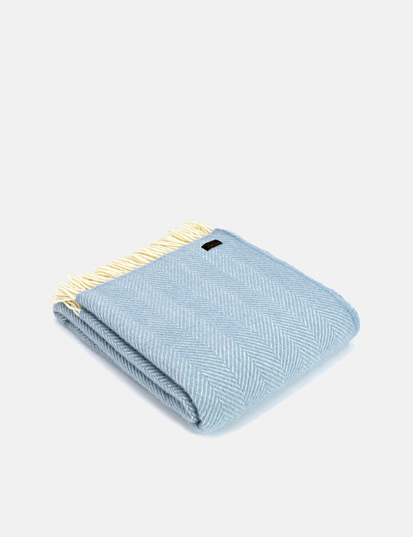 Tweedmill Fishbone Throw (150x183cm) - Entenei