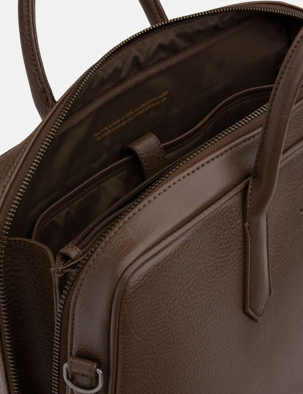 Matt & Nat Tom Briefcase - Chestnut Brown