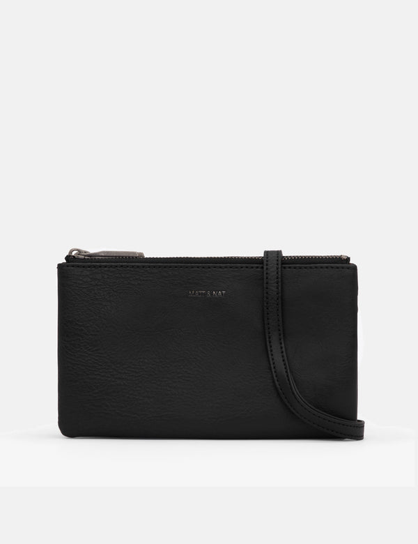 Matt & Nat Triplet Shoulder Bag - Black