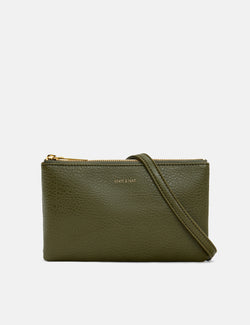 Matt & Nat Triplet Shoulder Bag - Leaf Green