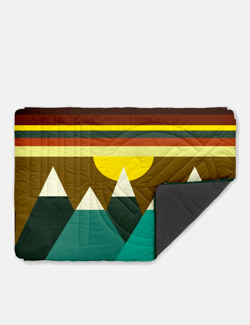 Voited Fleece Pillow Blanket - Monadnock