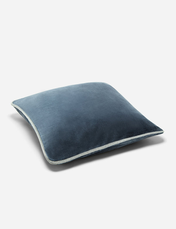 Liv Interior Velvet Cushion (45cm) - Night Blue