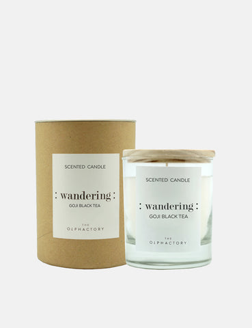 The Olphactory Scented Candle - Goji Y Te (Wandering)