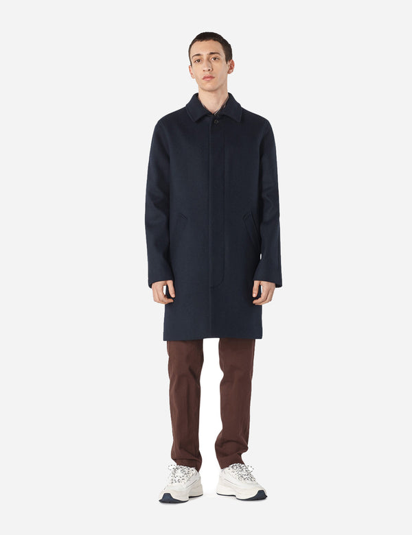 A.P.C. Auster Mac - Navy Blue - Article