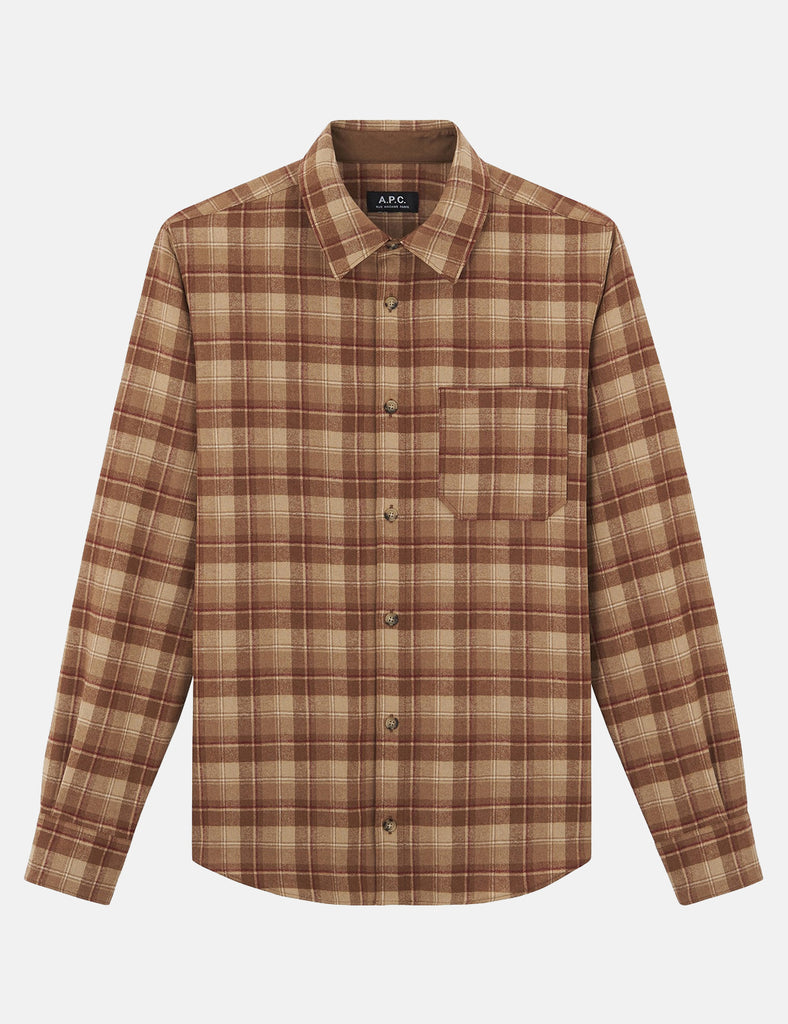 A.P.C. Attic Overshirt - Brown - Article