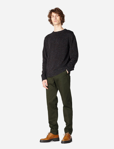 A.P.C. Rory Knit Sweatshirt - Brown - Article