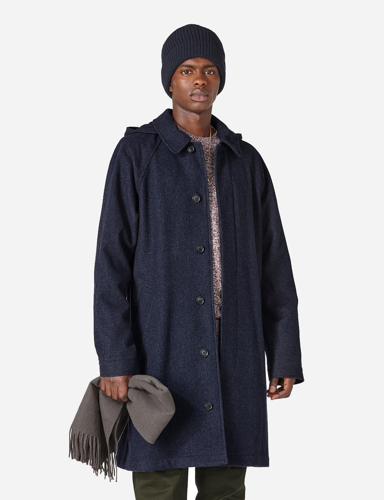 A.P.C. George Coat - Navy Blue - Article