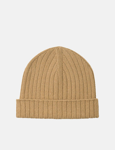 A.P.C. Bear Beanie Hat - Camel Brown - Article