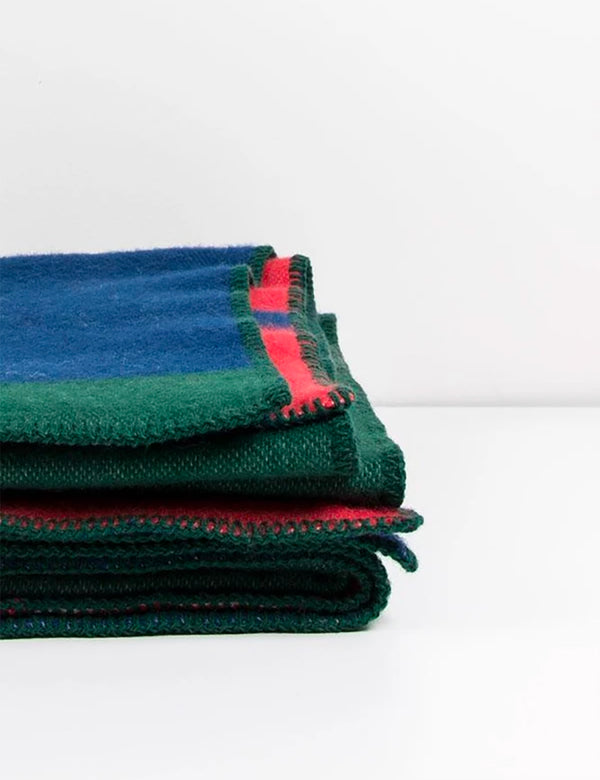 ZigZagZurich Bauhaused 1 Wool Blanket by Michele Rondelli & Sophie Probst