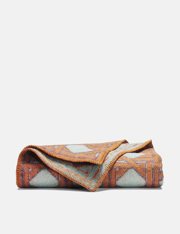 ZigZagZurich Tangier Wool Blanket by MIchele Rondelli & Sophie Probst