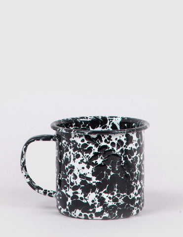 Crow & Canyon Enamel Crow & Canyon Mug - Black Marble - Article