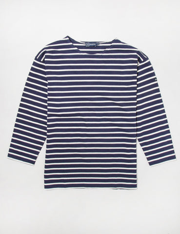 Armor Lux Beg Meil Breton T-shirt - Navy/Nature - Article