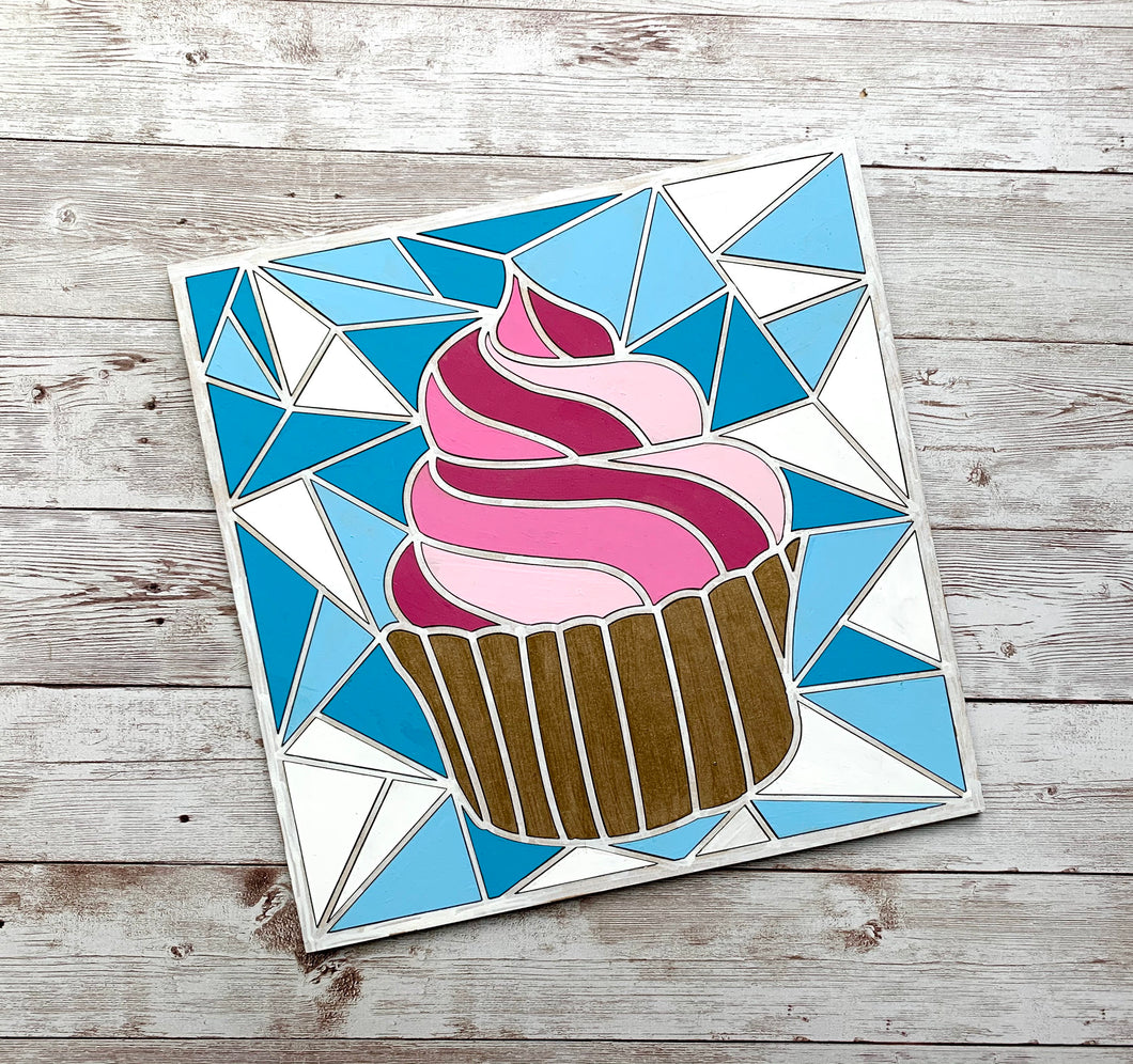 Paint Your Own CupcakeDIY Kit