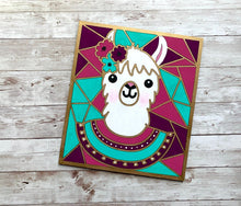 Load image into Gallery viewer, Paint Your Own Llama Kit