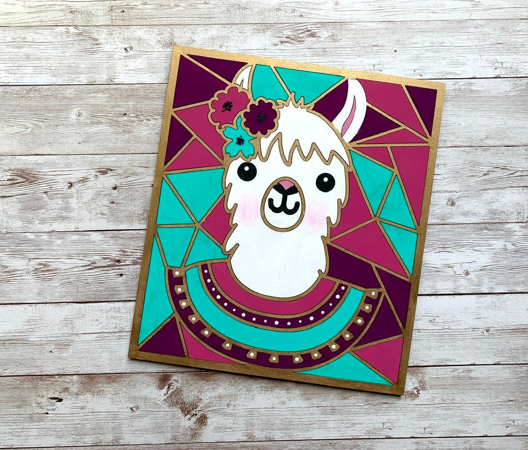 Paint Your Own Llama Kit