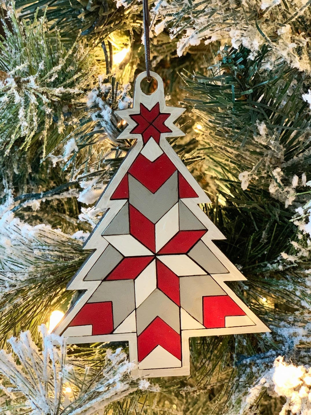 Paint Your Own Christmas Tree Ornament DIY Kit
