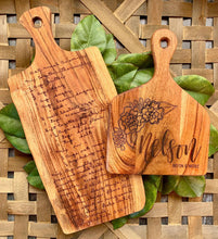 Load image into Gallery viewer, Large Custom Handwritten Recipe Cutting Board