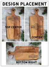 Load image into Gallery viewer, Large Customized Cutting Board