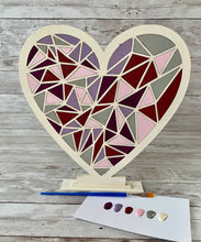 Load image into Gallery viewer, Paint Your Own Valentine Heart DIY Kit