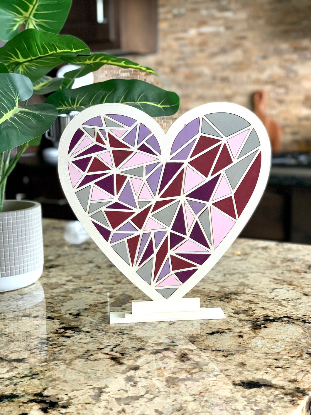 Paint Your Own Valentine Heart DIY Kit