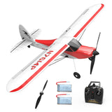 VOLANTEXRC Sport Cub 500 4Ch RC Trainer Airplane w/ 6-Axis Gyro / One-key Aerobatic Park flyer (761-4) RTF Airplane