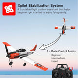 VOLANTEXRC T-28 Trojan 4CH Airplane with Xpilot Stabilizer / One-key Aerobatic RTF 761-9 Airplane