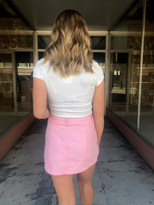 The Katrina Mini Skirt