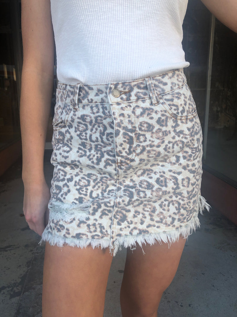 The Melissa Mini Skirt