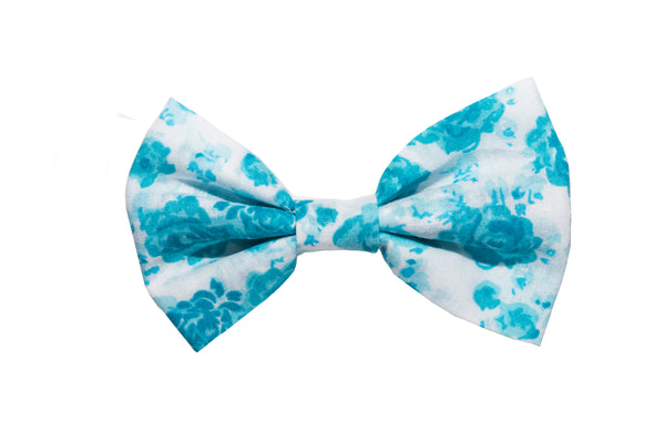 Girls' Floral Hair Clips, Floral Hair Bow- IN 5 COLOURS
