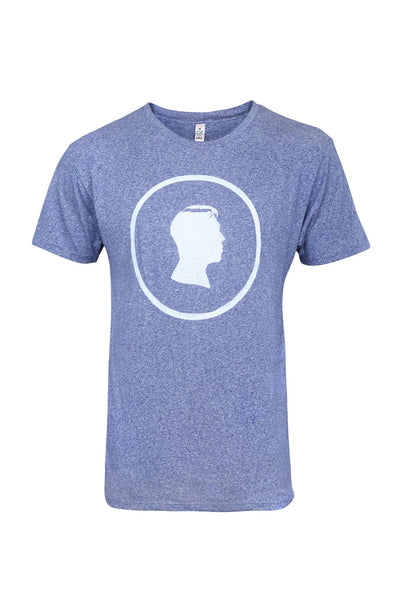 Blue Heather Face Tee - Jackets
