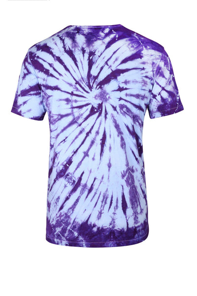 Purple Swirl Tee - Bamboo T Shirt - Jackets