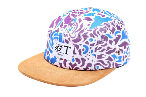 Baroque Pattern 5 Panel Cap - Jackets