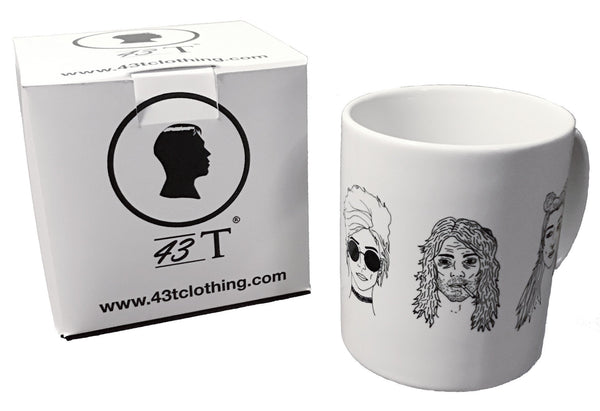 White 43T Models Mug & Box Set - Jackets