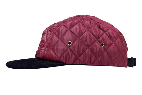 Quilted Winter Cap - Jackets