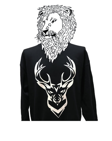 Black Moose Jumper - Jackets