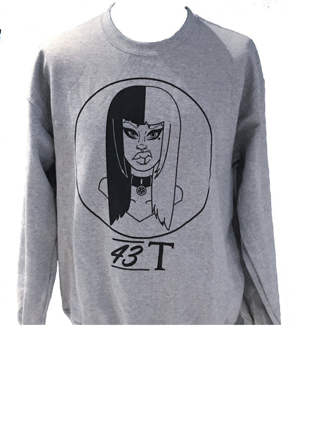 Grey Goff Girl Sweater - Jackets