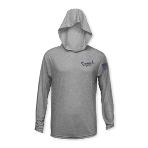 Performance Heather Long Sleeve Hoodie